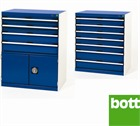 Bott Drawer Cabinets 800mm Wide x 525mm Deep