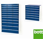 Bott Drawer Cabinets 1050mm Wide x 750mm Deep