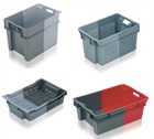 180 Degree Allibert Stack & Nest Containers