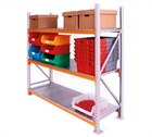 APEX Longspan Shelving with Steel Panels