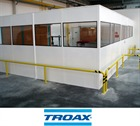 TROAX Bastion Single Skin Partitioning