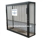 Bolt Together Air Conditioning Security Cages