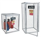 Galvanised Outdoor Gorilla Gas Cage