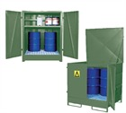 Fully Enclosed Secure Drum Storage