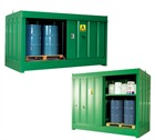 Large Fully Enclosed Secure Drum Storage