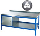 Heavy Duty Workbench with a Steel Top