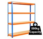 Standard Duty Rapid 1 Racking 1525mm - 1830mm wide