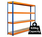 Standard Duty Rapid 1 Racking 2134mm - 2440mm wide