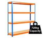 Heavy Duty Rapid 1 Racking 1525mm - 1830mm wide