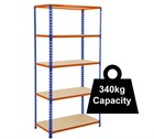 Standard Duty Rapid 2 Racking - 915mm Wide