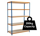 Standard Duty Rapid 2 Racking - 1220mm Wide