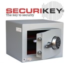 Securikey Mini Vault Silver Electronic Locking Safe