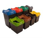 Open Top Recycling Bins