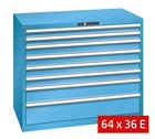 Lista Drawer Cabinets 1193mm W x 725mm D (75kg)