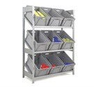 Fully Inclined Shelves Picking Unit