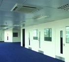 Double Skin Steel Hygienic Partitioning