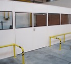 Single Skin Steel Heavy Duty Partitioning