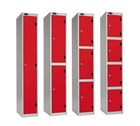 Shockbox Shock Proof Lockers with inset Laminate Door