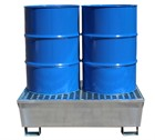Galvanised Steel Drum Spill Pallets