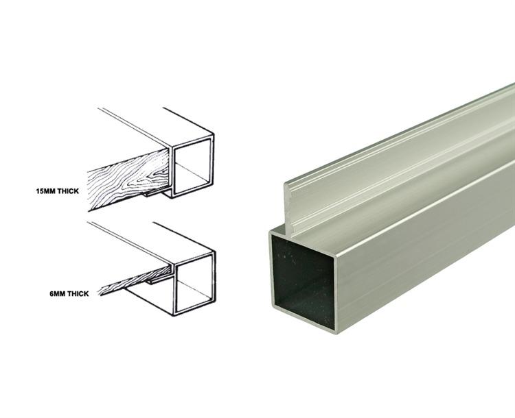 how to cut aluminum square tubing