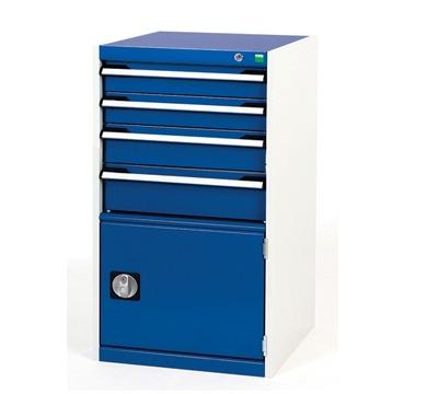 Bott Drawer Cabinets 525mm Wide X 525mm Deep Richardsons Shelving Racking Storage Lockers
