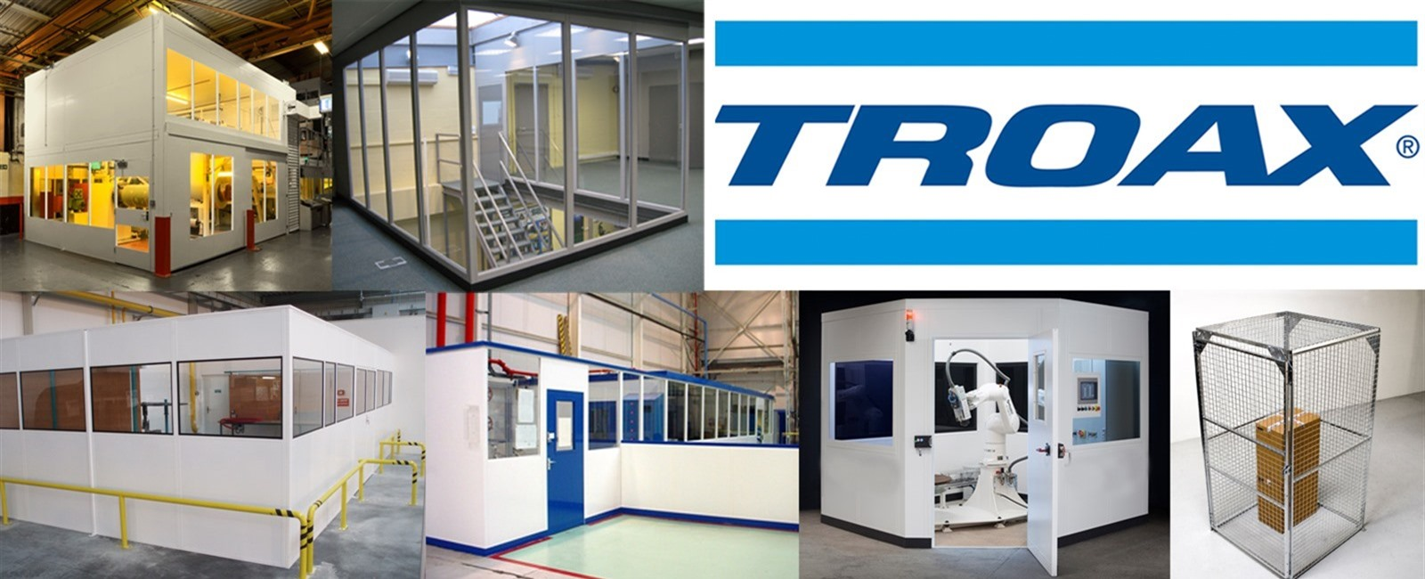 Troax Steel Partitioning