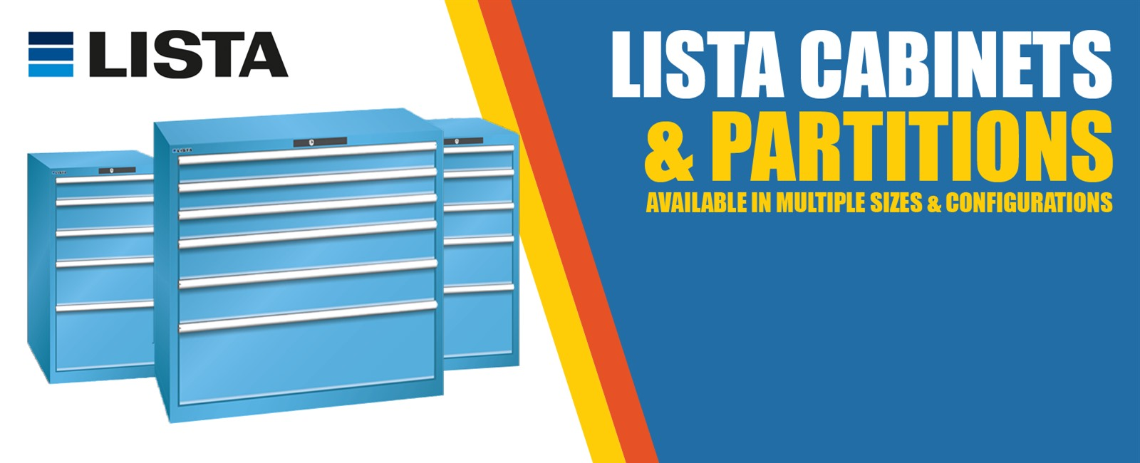 LISTA Drawer Cabinets and Partitions